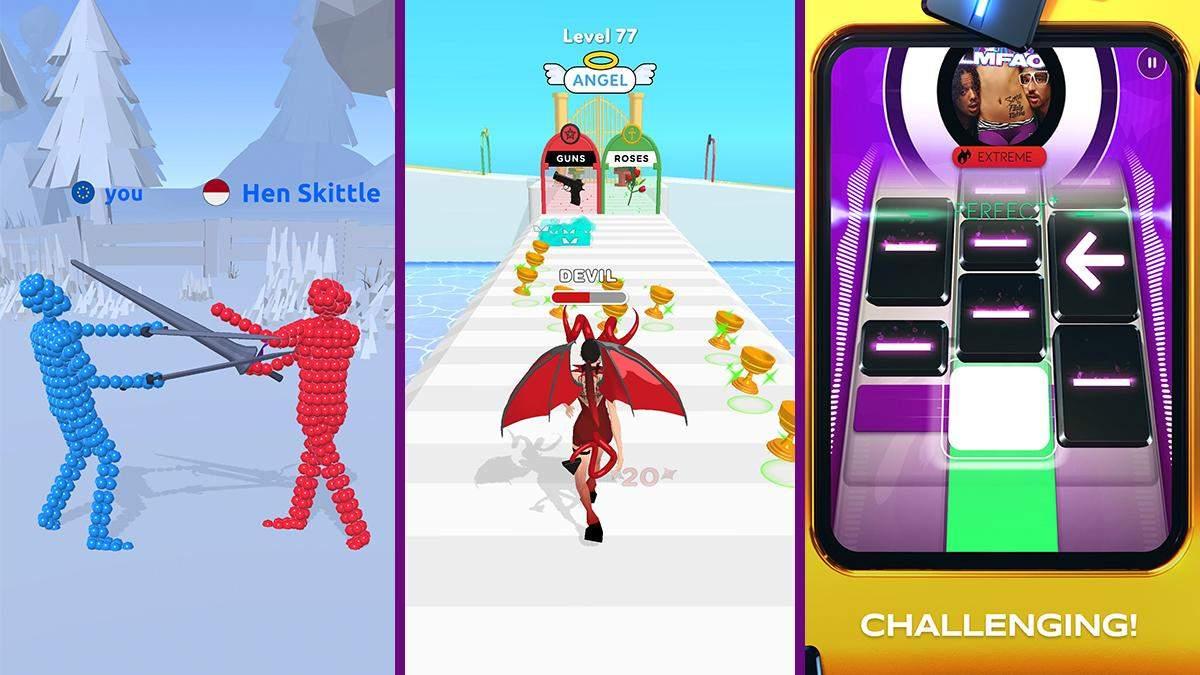 Лучшие мобильные игры за последнюю неделю: симулятор поединков и интересная музыкальная новинка - Игры - Games