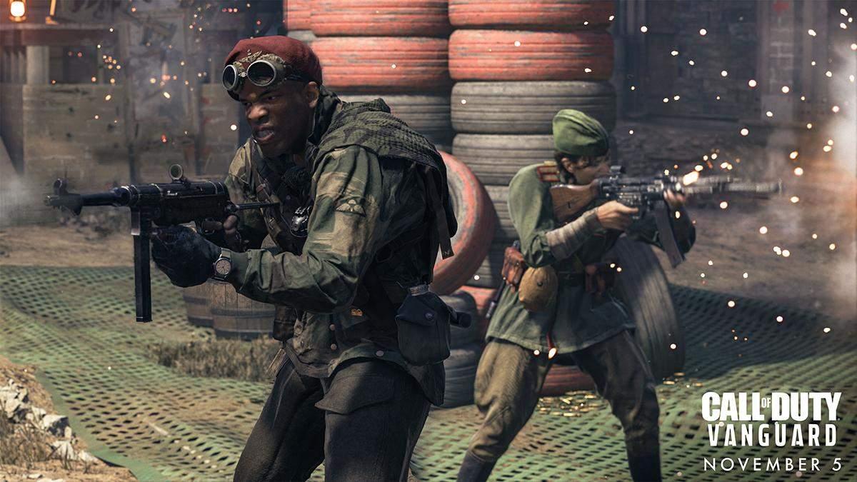Система разрушений и новая карта для Warzone: трейлер мультиплеера Call of Duty: Vanguard - Игры - Games