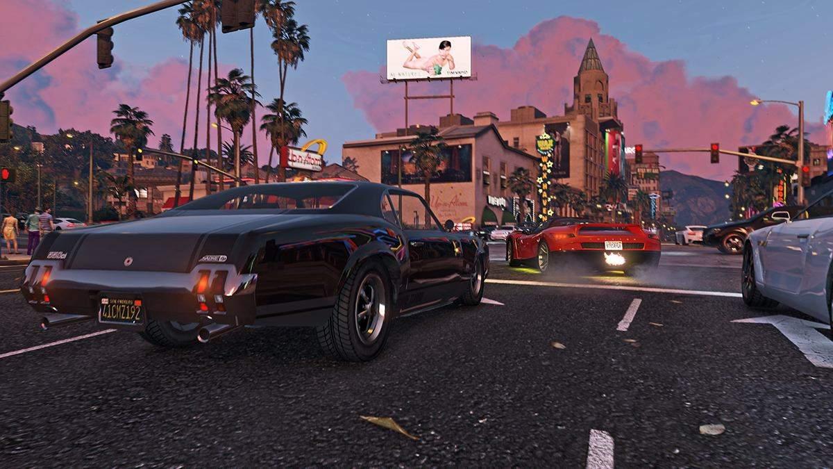 """Игрок в GTA Online случайно повторил известную сцену из фильма """"Двойной форсаж"""" - Игры - Games"""
