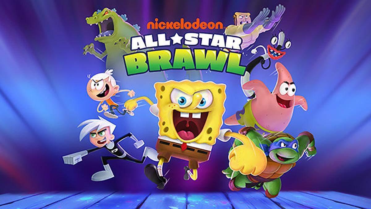 Губка Боб, Котопес и Леонардо: в сети появился первый геймплей Nickelodeon All-Star Brawl - Игры - Games