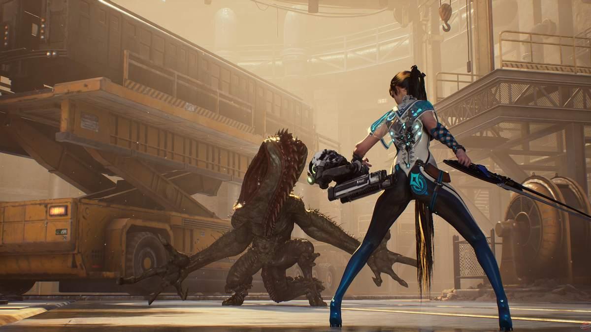 Фанатам NieR: Automata точно понравится – увлекательный трейлер игры Project Eve - Игры - Games