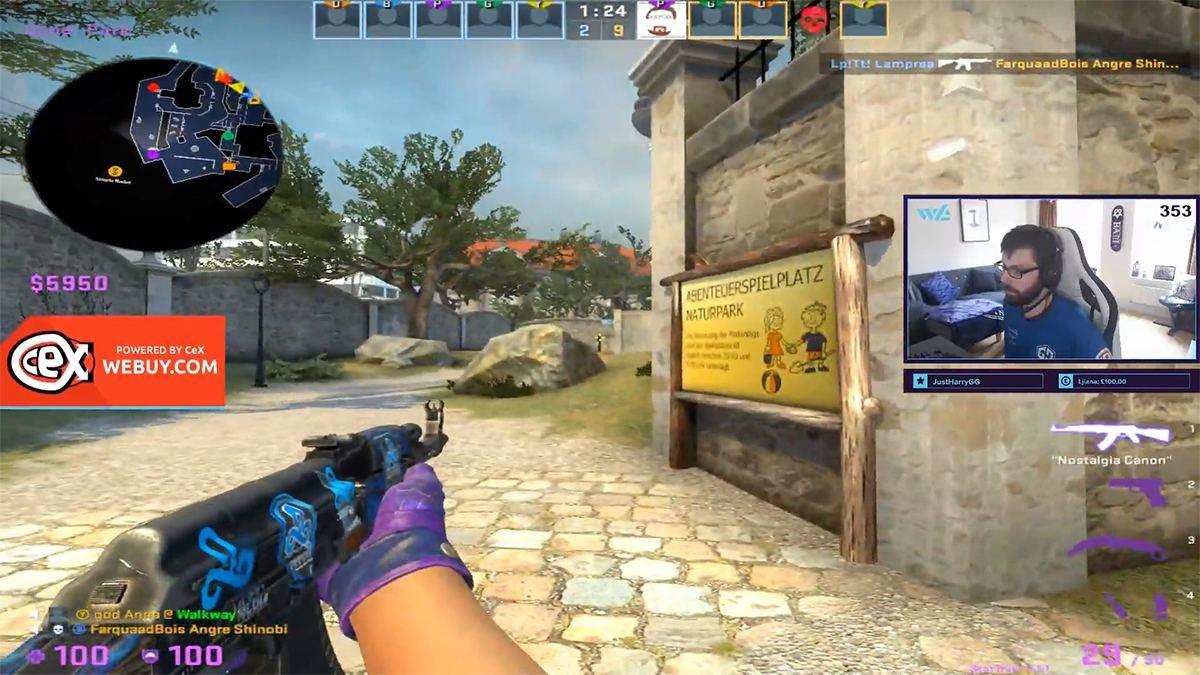 Ідеальна стрільба: гравець у CS:GO ефектно ліквідував усю ворожу команду - Ігри - games