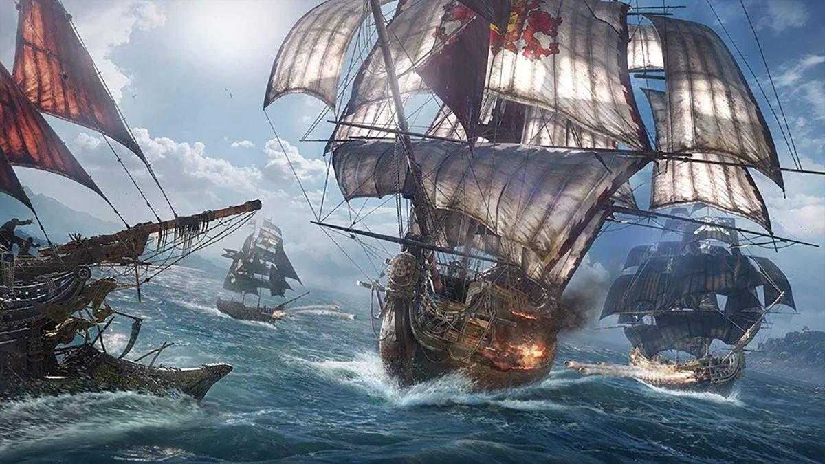 Пиратский экшен от Ubisoft: известный инсайдер поделился интересной информацией о Skull & Bones - Игры - Games
