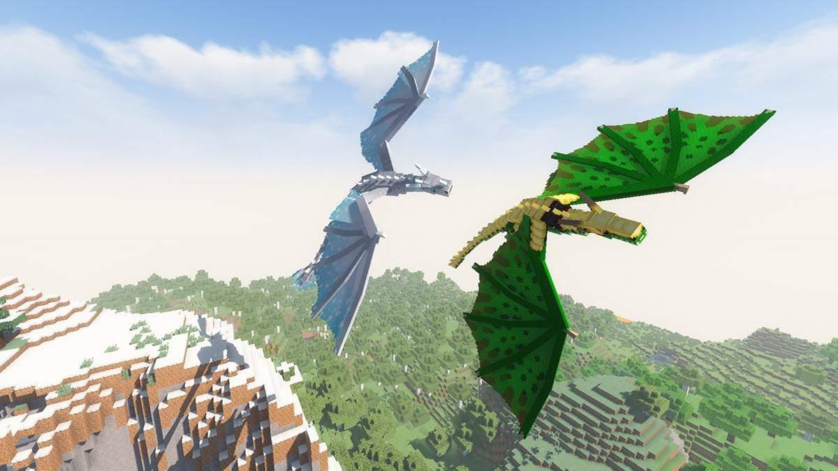 Россыпь фантастических существ: энтузиасты выпустили оригинальную модификацию для игры Minecraft - Игры - Games