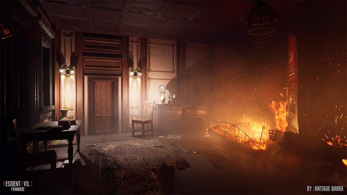 Энтузиаст показал, как могла бы выглядеть видеоигра Resident Evil 3: Nemesis на Unreal Engine 5 - Игры - Games