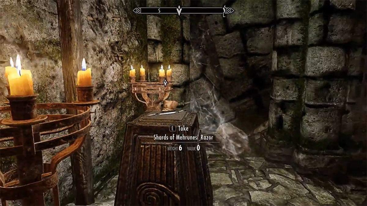 """Гравець у Skyrim повторив відомий трюк з фільму """"Індіана Джонс: У пошуках втраченого ковчега"""" - Ігри - games"""