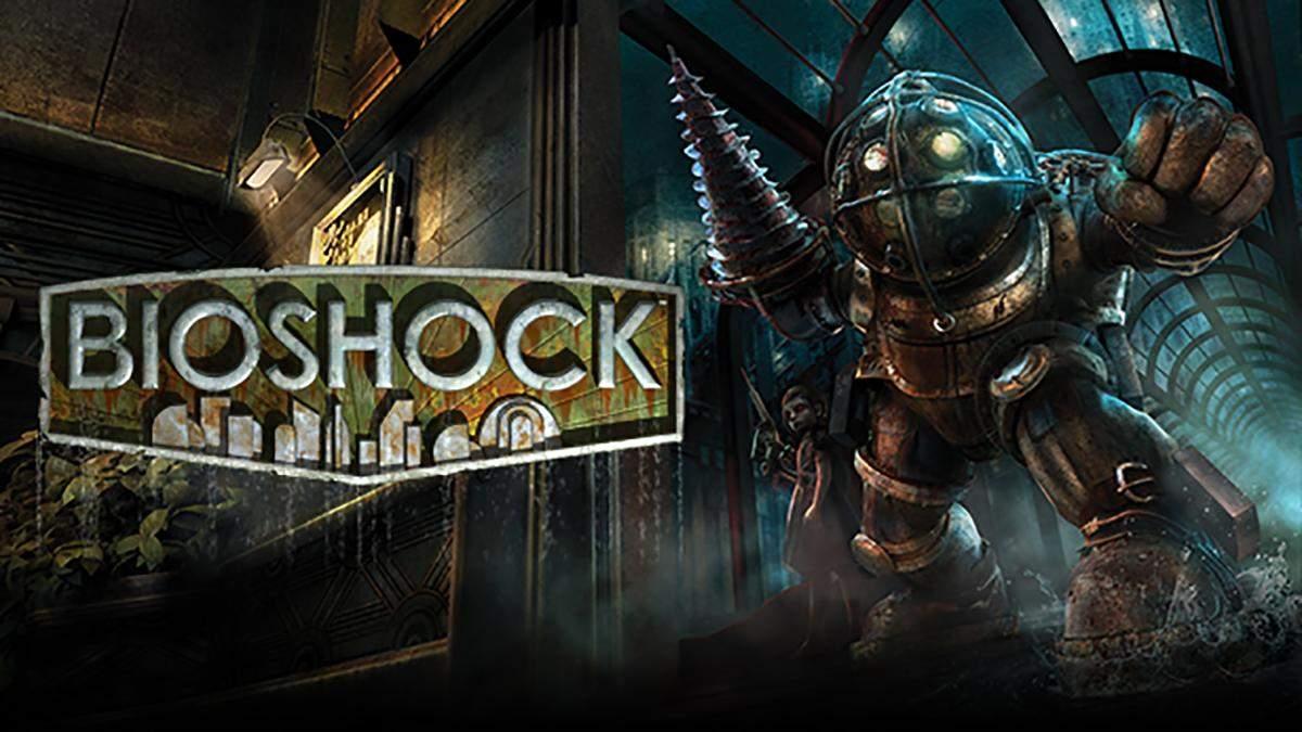 Интересный вариант: разработчик показал, как могла бы выглядеть игра BioShock с 2D-графикой - Игры - Games