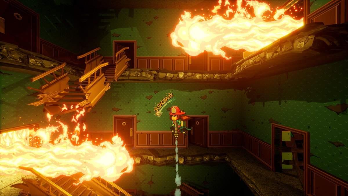 Волшебный инди-платформер Firegirl: Hack'n Splash Rescue получил дату релиза: яркий трейлер - Игры - Games