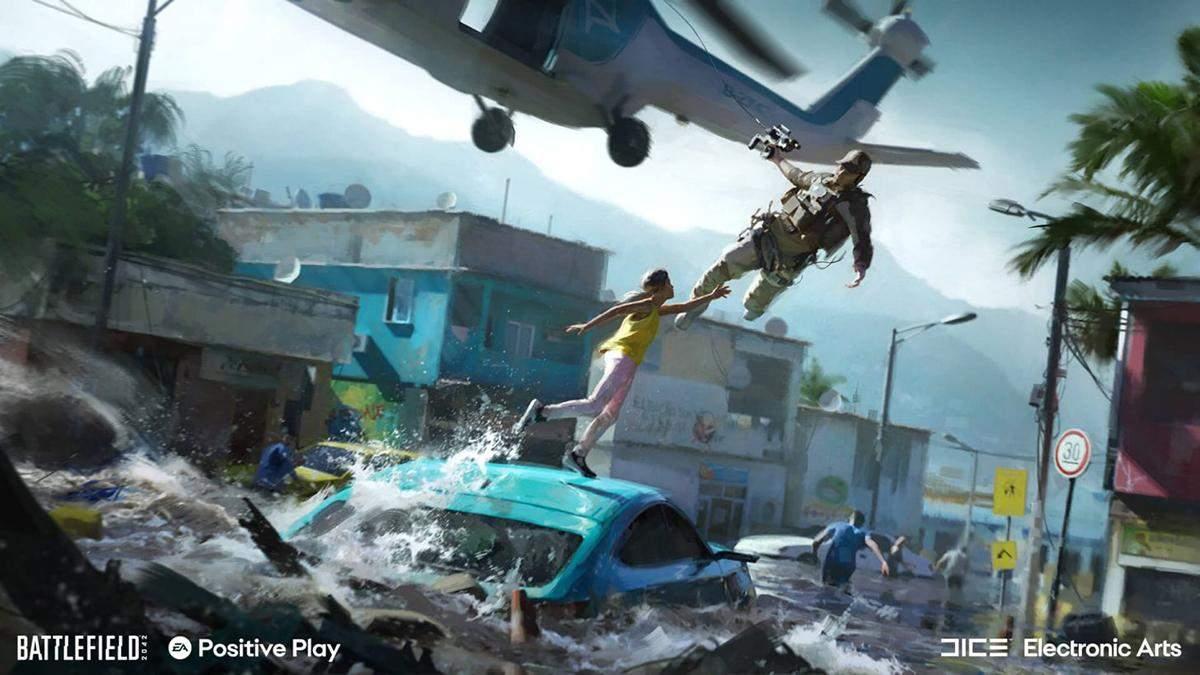 Все для позитивной атмосферы: геймеры раскритиковали одну из функций в Battlefield 2042 - Игры - Games