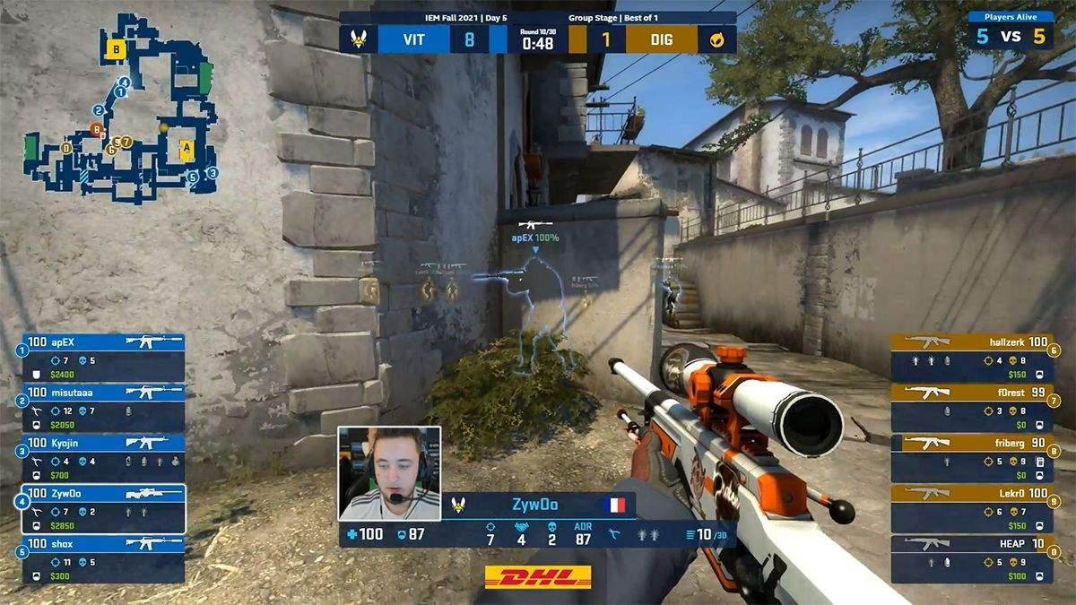 Рідкісний хайлайт: професійний гравець у CS:GO одним вистрілом ліквідував 3 опонентів - Ігри - games
