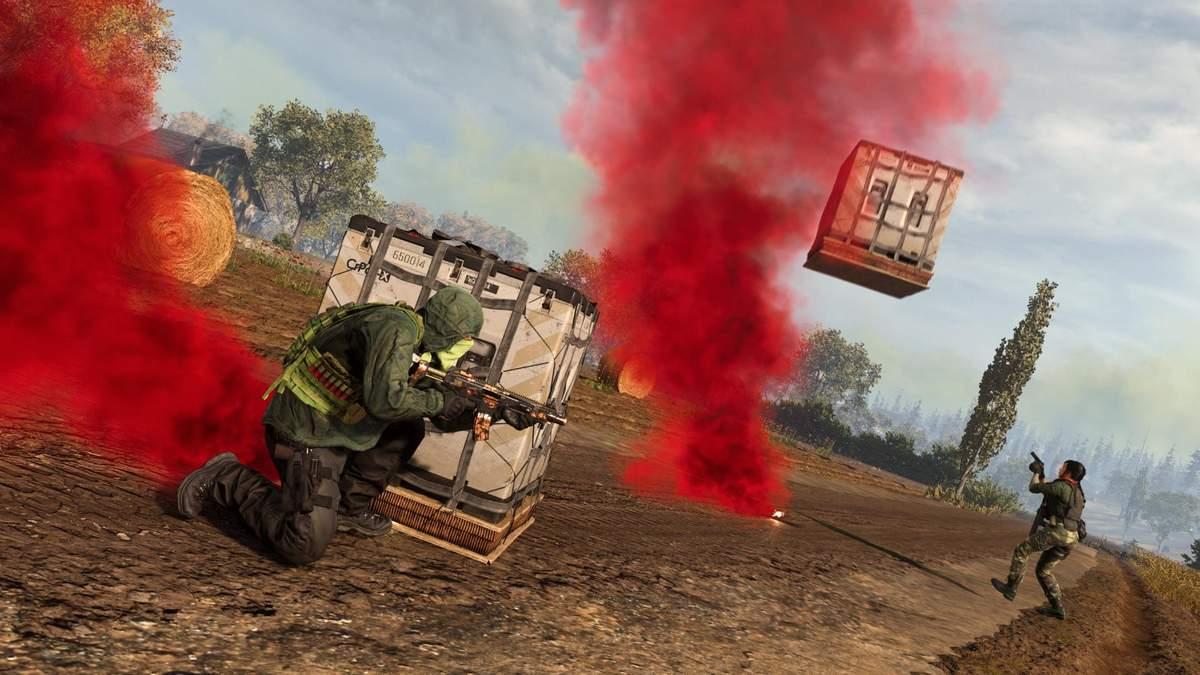 Стример Warzone попытался взять свой комплект снаряжения прямо в воздухе: что из этого вышло - Игры - Games