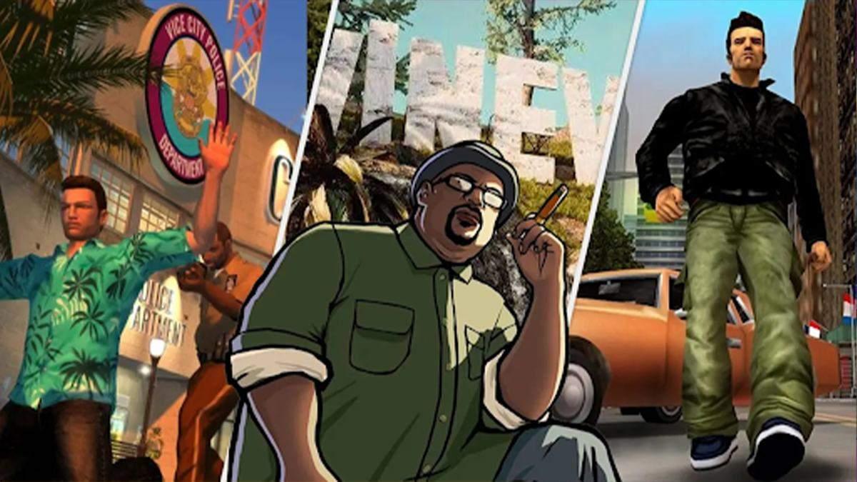 Почти официально: датамайнеры нашли данные о трилогии ремастеров GTA в файлах Rockstar Launcher - Игры - Games