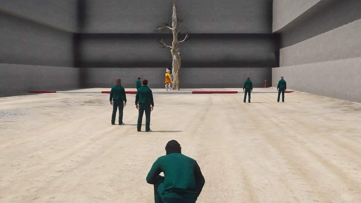 """""""Гра в кальмара"""" у GTA Online: ентузіасти відтворили смертельні випробування – кумедне відео - Ігри - games"""