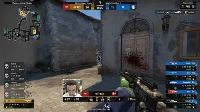 Претендент на момент року в CS:GO: refrezh взяв неймовірний клатч у матчі з Team Liquid