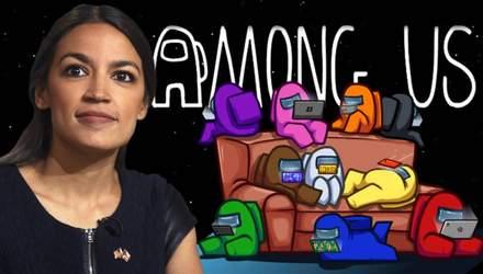 Конгресвумен США зібрала шалену суму на благодійність завдяки Among Us