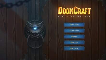 Стильно и со вкусом: геймдизайнер решил объединить Doom и Warcraft – фото, видео