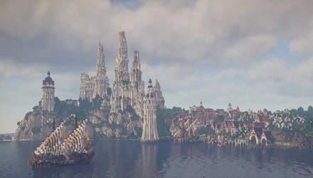 Масштаби вражають: команда ентузіастів відтворює світ Середзем'я у Minecraft – відео