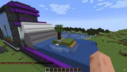 """""""Гра для дітей"""": геймер показав MS Paint у Minecraft, який може створювати 3D-моделі – відео"""