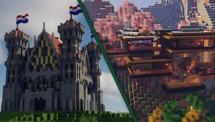 7 найкрутіших концептів будинків для досвідчених архітекторів у Minecraft: фото