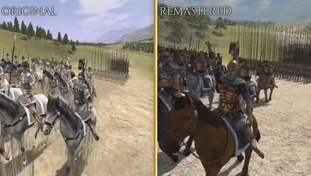 Для шанувальників класики: всі деталі про ремастер Rome: Total War і порівняння з оригіналом