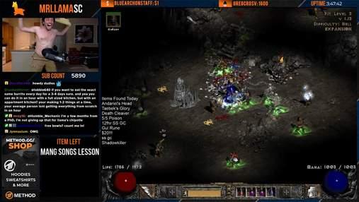 Мізерні шанси та 4 роки пошуків: фанат Diablo 2 виконав унікальний ігровий челендж – відео