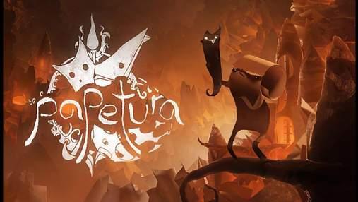Сделана полностью из бумаги: состоялся релиз уникальной видеоигры Papetura