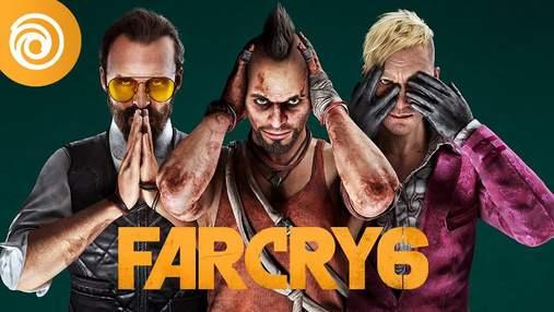 Они возвращаются: в Far Cry 6 можно будет сыграть за известных антагонистов – видео