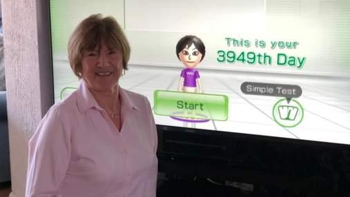 Бабушка-геймер ежедневно играла в одну и ту же игру в течение целых 13 лет