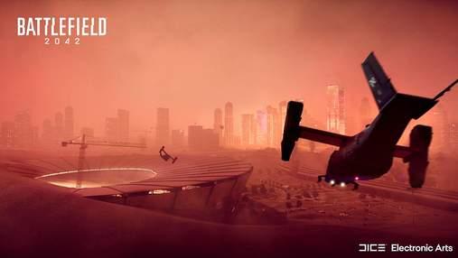 Пилова буря, торнадо й технології майбутнього: перший геймплей Battlefield 2042 – відео
