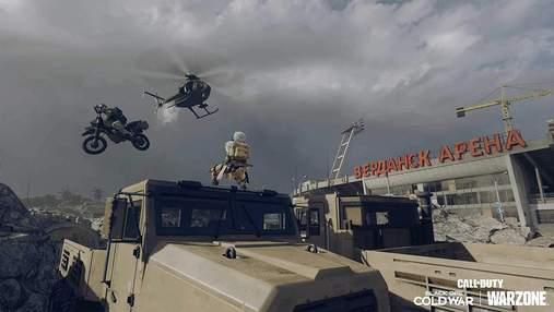 Безумные трюки: игроки в Call of Duty: Warzone уже оценили новое транспортное средство – видео