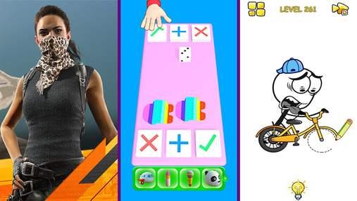 Найпопулярніші мобільні ігри за останній тиждень: симулятор бартеру та кумедна головоломка