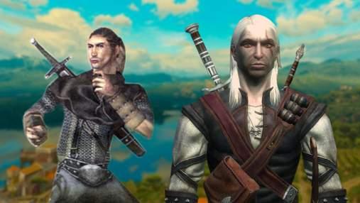 Розробник The Witcher показав, як виглядала перша модель Геральта із Рівії у далекому 2002 році