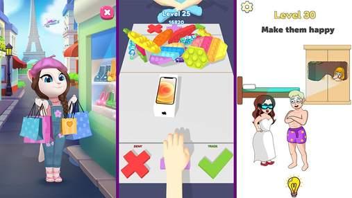 Найпопулярніші мобільні ігри за останній тиждень: війни клонів та оригінальна головоломка