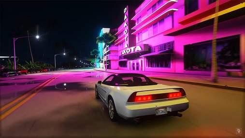 Сучасна версія: блогер показав, яким може бути ремастер Grand Theft Auto: Vice City