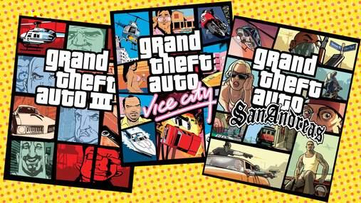 Інсайдери стверджують, що Rockstar працюють над трилогією з ремастерів культових частин GTA