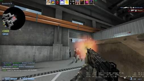 Знадобилося лише 3 кулі: гравець у CS:GO ефектно ліквідував усю ворожу команду з MAG-7