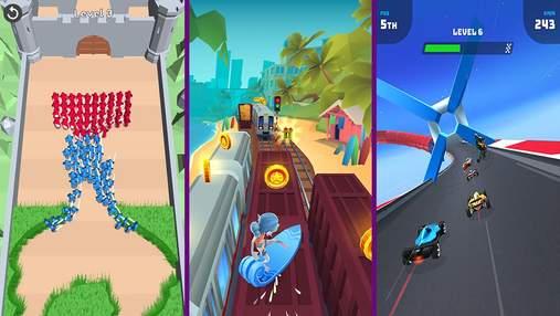Найпопулярніші мобільні ігри за останній тиждень: цікаві перегони та новинка від VOODOO