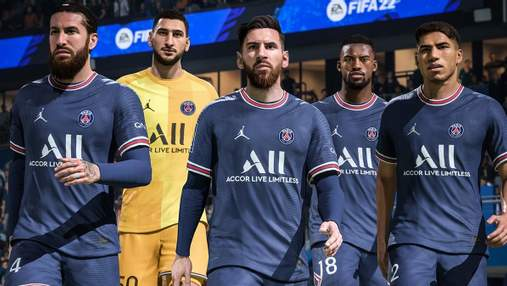 Больше не Месси и Роналду: стали известны 22 лучшие футболисты в FIFA 22