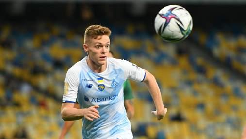 У Циганкова найвищий рейтинг у FIFA 22 серед гравців Динамо