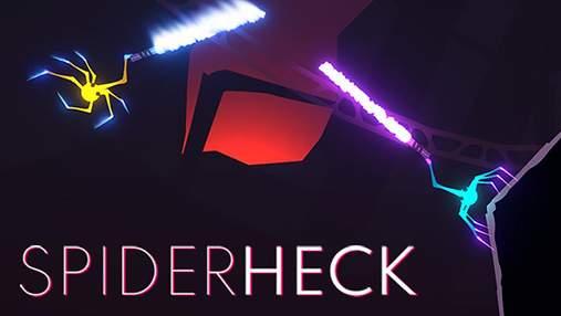 Битви павуків на світлових мечах: tinyBuild представила оригінальну відеогру SpiderHeck