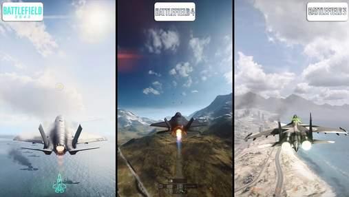 Геймер порівняв графіку в Battlefield 3, Battlefield 4 та Battlefield 2042: результат вас здивує